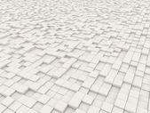 Backdrop of a multitude of white blocks — Stock Photo