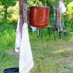 Ancient adaptation for washing — Stock Photo
