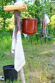 Ancient adaptation for washing — Stock Photo