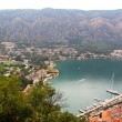 Panorama of Bocka-Kotorskya bay. Montenegro. — Stock Photo