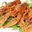 Portion of crayfishes — Stock Photo