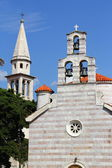Orthodox church in Budva. Montenegro. — Foto de Stock