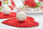 Cukierki kokosowe — Zdjęcie stockowe