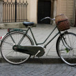 Stock Photo: Old bicycle in city