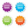 Set of colorful tags — Stock Vector #30198477