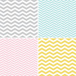 Seamless Zigzag (Chevron) Pattern — Vetorial Stock  #30388631