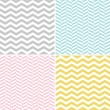 Seamless Zigzag (Chevron) Pattern — Vector de stock  #30388631