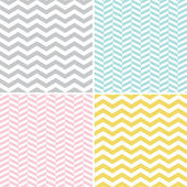 Seamless Zigzag (Chevron) Pattern — Stock Vector