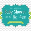 Baby Shower Invitation — Stock Vector #31527297
