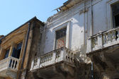 Damaged House On Green Line Cyprus. — Stock Photo