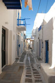 Streets of The Greek Islands — Stock Photo