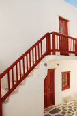 Staircase on Greek Island — Stock Photo