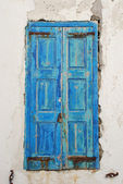 Greek Island Door — Stock Photo