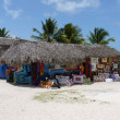 Shop in Mano Juan, Isla Saona, Dominican Republic — Stock Photo
