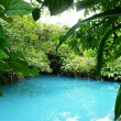 Incredible blue lagoon — Stock fotografie