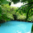 Incredible blue lagoon — Photo