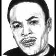 Portrait of Dr. Dre - Stock Photo