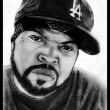 Portrait of Ice Cube - Stock Photo