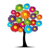 創造的な花 — ストックベクタ