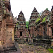 Banteay Srei ruins temple — Stock Photo #29498077