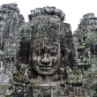 Stock Photo: Angkor Thom ruins temple