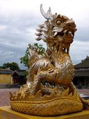 Dragon statue — Stock Photo