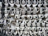 Sculpure en preah khan — Foto de Stock