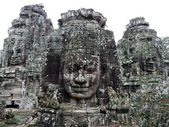 Angkor Thom ruins temple — Stock Photo