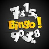 Creatieve bingo — Stockvector