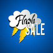 Flash Sale — Stock Vector