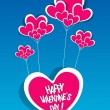 Happy Valentines Day card — Stock Vector #34273039