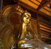 Buddha statue in Bai Dinh temple — Stock Photo