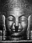 Cambodian Buddha Face — Stock Photo