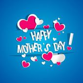 Happy Mother's Day Card — Stock Vector