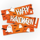 Happy Halloween card — Stock Vector
