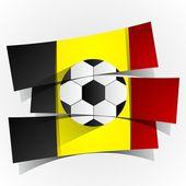 Belgium Football Team — Stockvektor