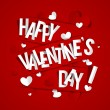 Happy Valentines Day Greeting Card — Stock Vector #44752273