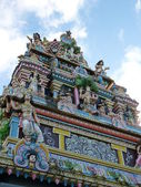 Tamil Surya Oudaya Sangam Temple — Stock Photo