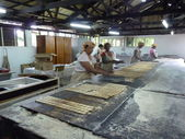Traditional Manioc Biscuits Fabric — Foto de Stock