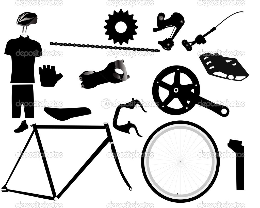 Parts for bicycles    ...