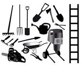 Tools for the gardener — Stock Vector