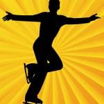 Постер, плакат: Figure skater