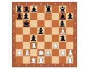 šachovnice s čísly — Stock vektor