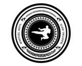 Emblem karate — 图库矢量图片