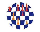 Chess — Stockvektor