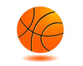 Basketball ball — Vettoriale Stock