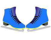 Skates for figure skaters — Wektor stockowy