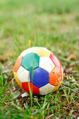BALL AND GRASS — Stock Photo