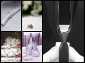 Wedding collage — Photo