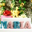 Stock Photo: Name Maria